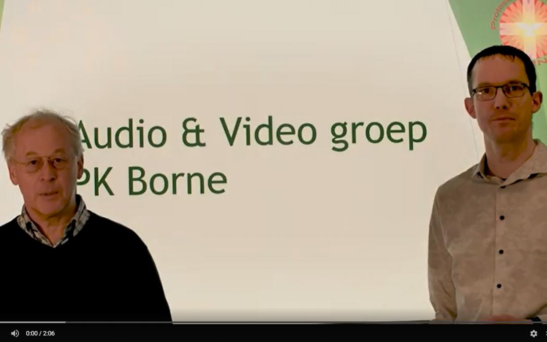Filmpje: Geef voor Team beeld en geluid