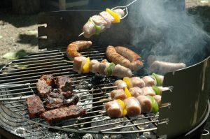 Barbecue voor de jeugd